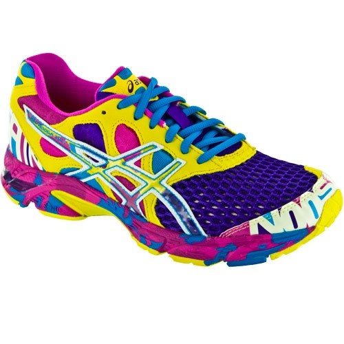 (Limited Supply) Click Image Above: Asics Gel-noosa Tri Asics Women's  Running Shoes Electric Purple/white/sun