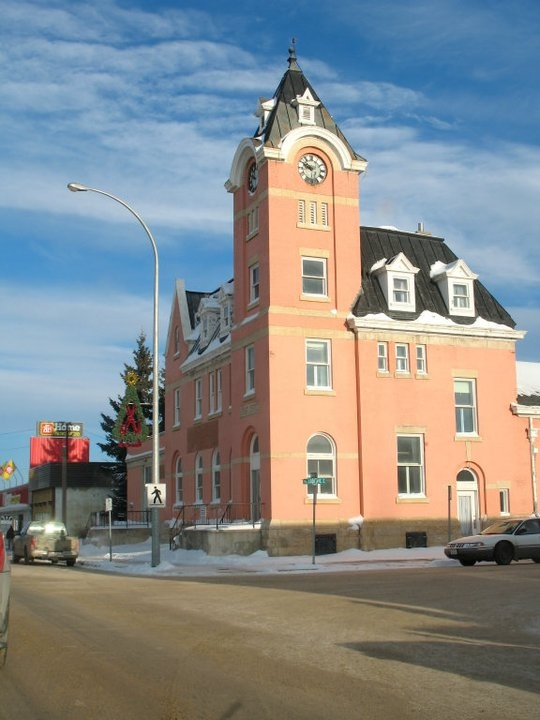 Historic post office in Melfort