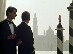 Charles and Sebastian in Venice - dressed for dinner