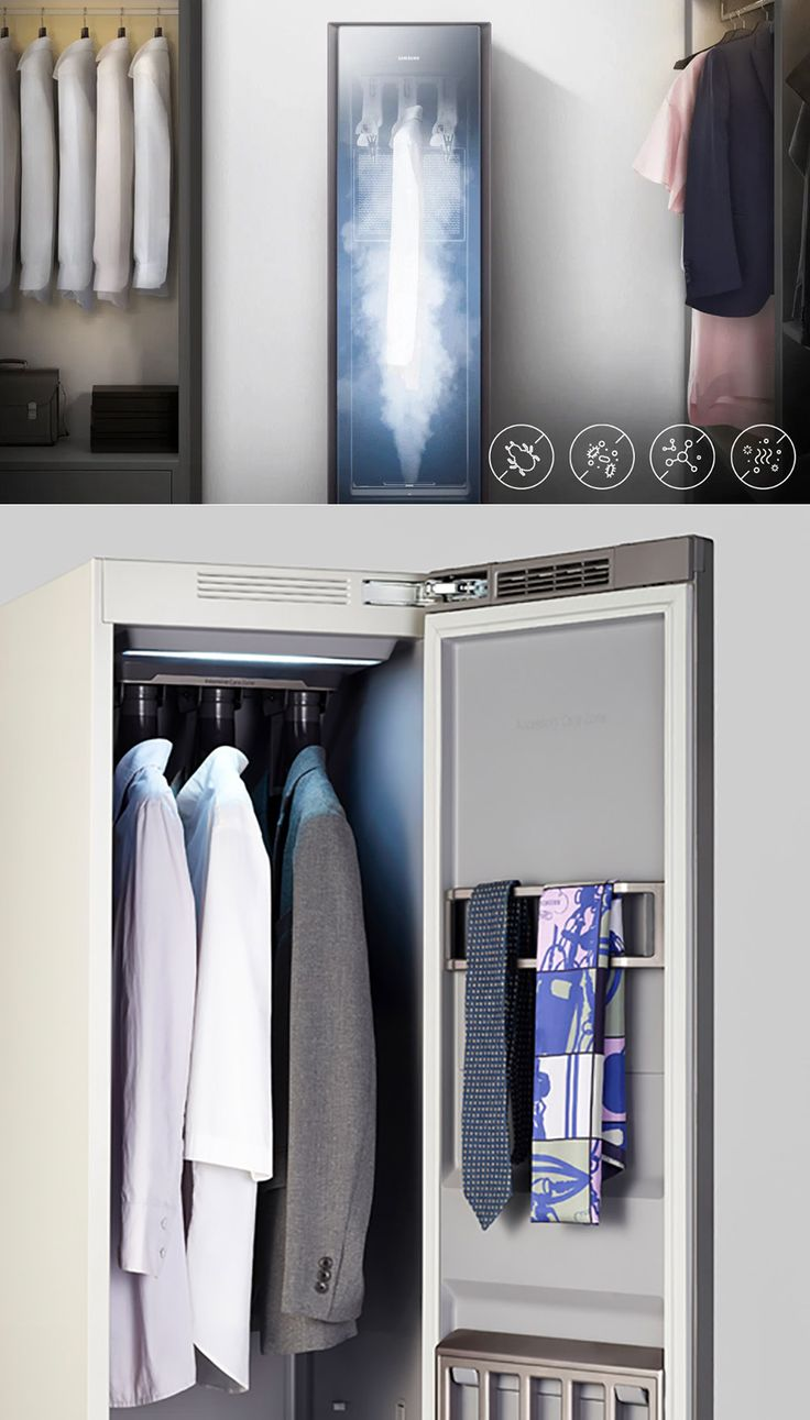 Samsung AirDresser is your own personal smart drycleaning