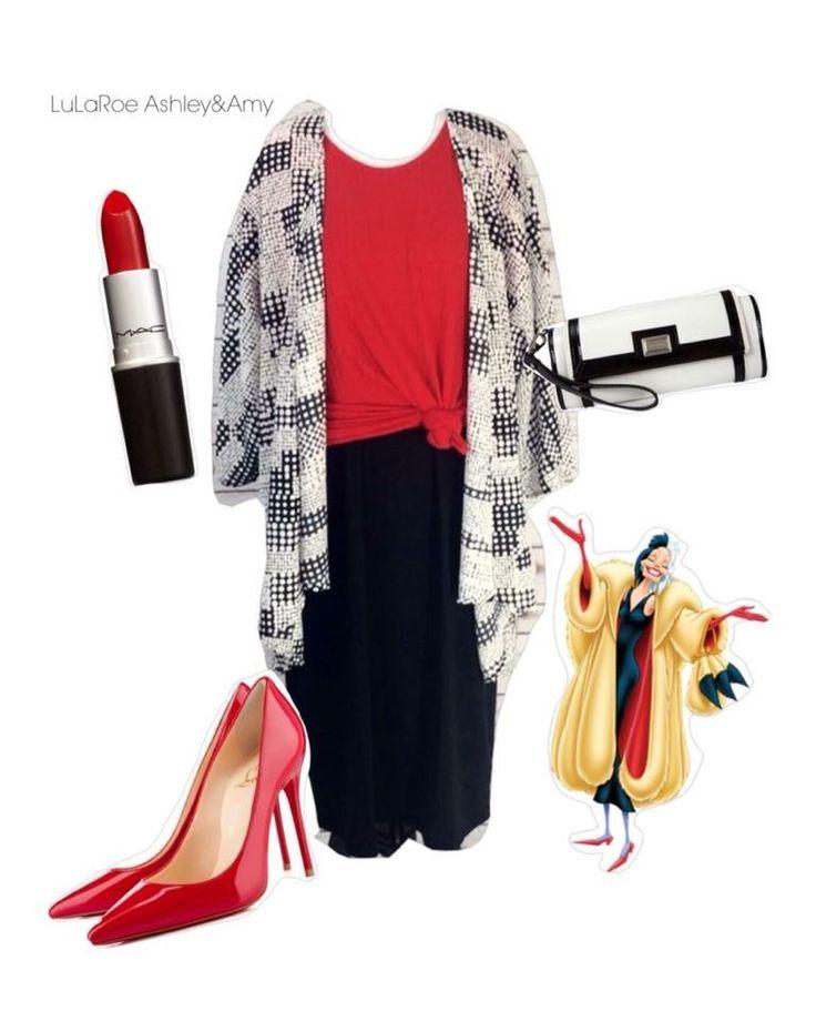 Disney LuLaRoe Cruella De Vil inspired outfit! LuLaRoe ...
