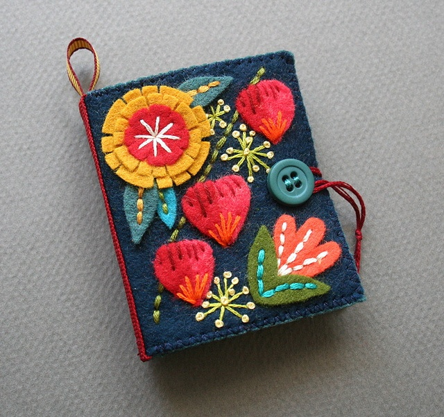 Flora Needle Book No. 7 by mmmcrafts,