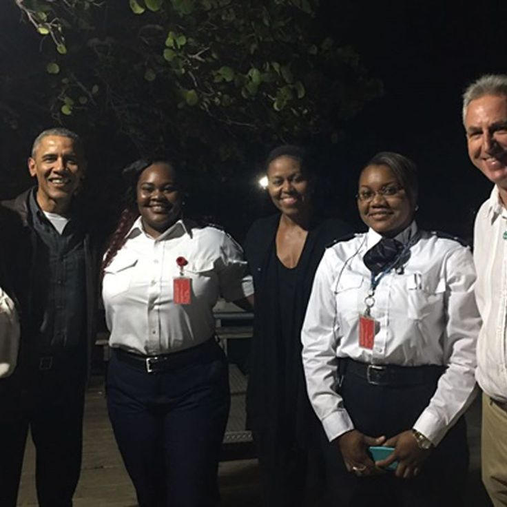 Les Obama en vacances chez Richard Branson aux îles Vierges britanniques