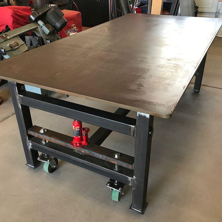 Diy Workbench Upgrades: Best 25+ Welding Table Ideas On Pinterest