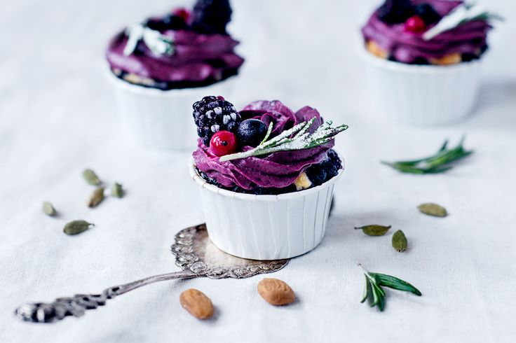 Zitrone-Buttermilch Whey Cupcakes
