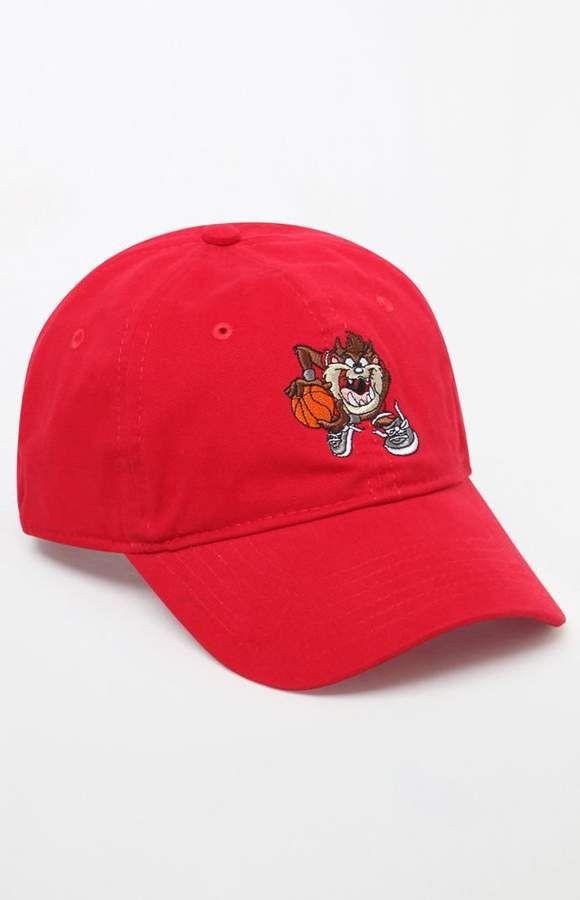 PacSun null Tasmanian Devil Strapback Dad Hat  affiliatelink Tasmanian  Devil bad67cc54d64