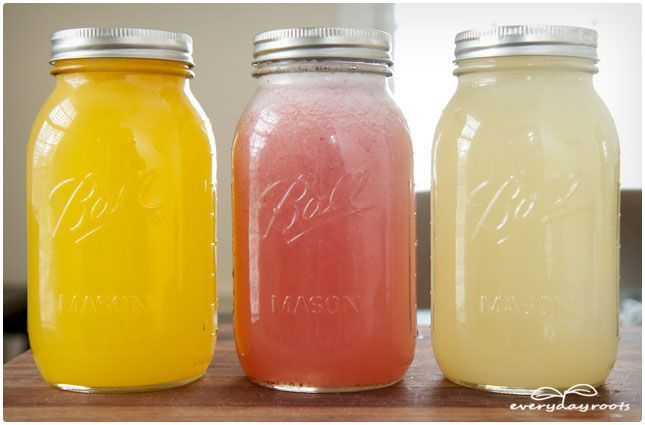 Make your own electrolyte drinks