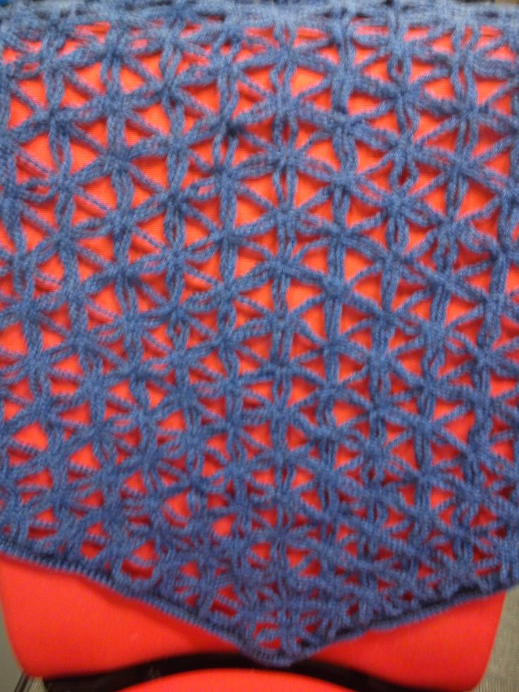 triangle shall, crochet, pattern from youtube