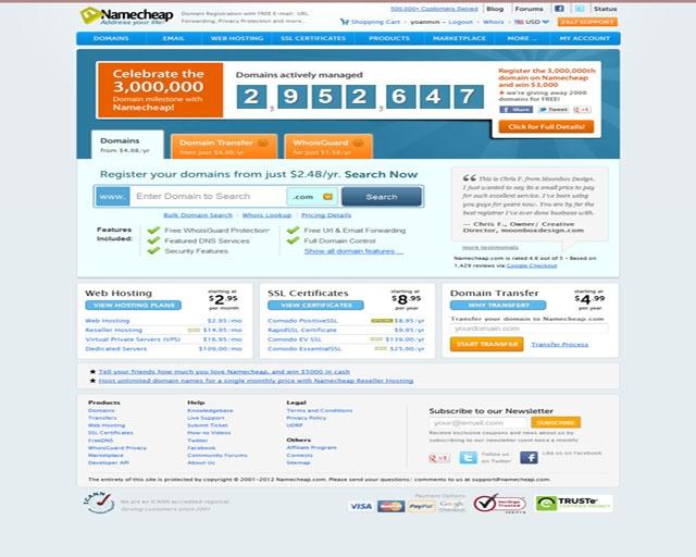 05ecca8e5c634d7708386a56467c03da domain hosting