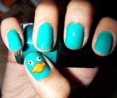 Perry nailart, haha!