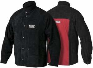 Lincoln Electric Heavy Duty Leather Welding Jacket - X-Lge