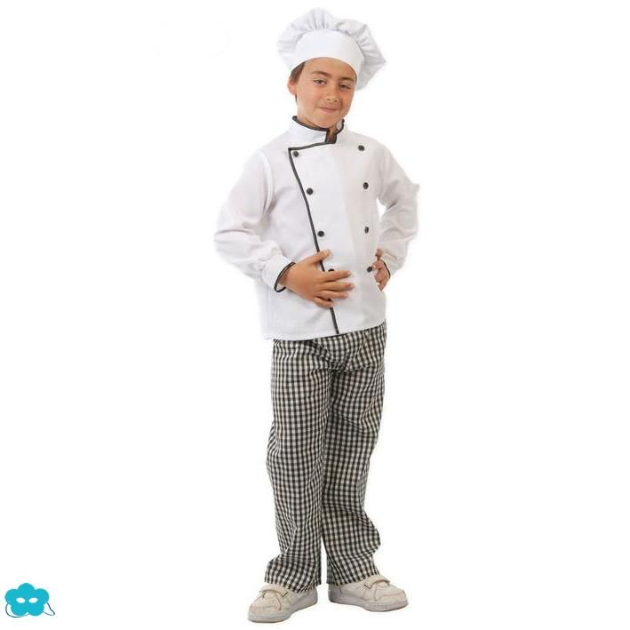 Disfraz de chef para niños