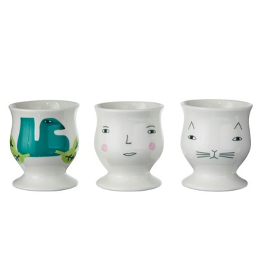 Donna Wilson egg cups: Cups Etcetera, Egg Cups, Shape Eggcup, Easter Eggs, Eggs Cups, Donnawilson, Products, Donna Wilson, Wilson Eggs