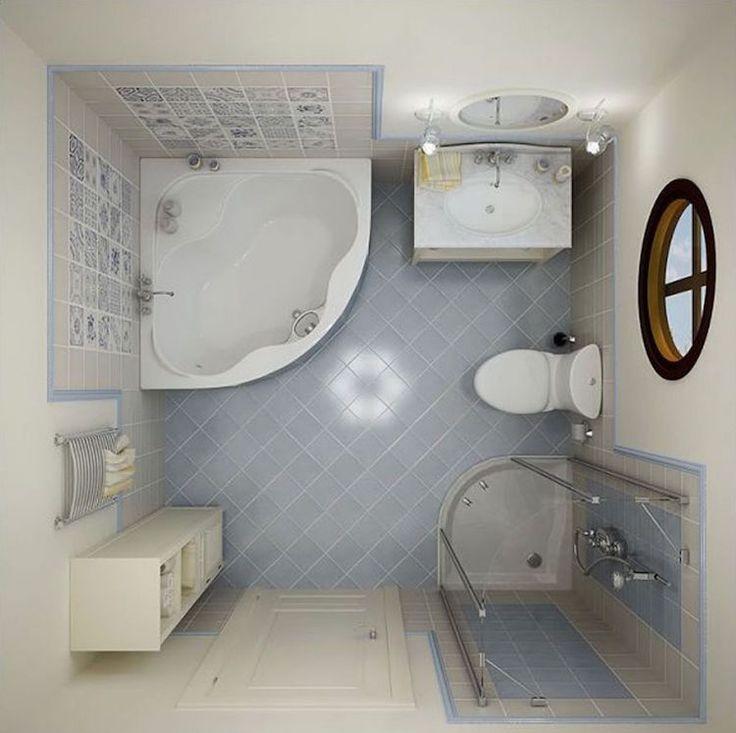 Les 25 meilleures id es concernant baignoire d 39 angle sur for Salle de bain baignoire et douche petit espace