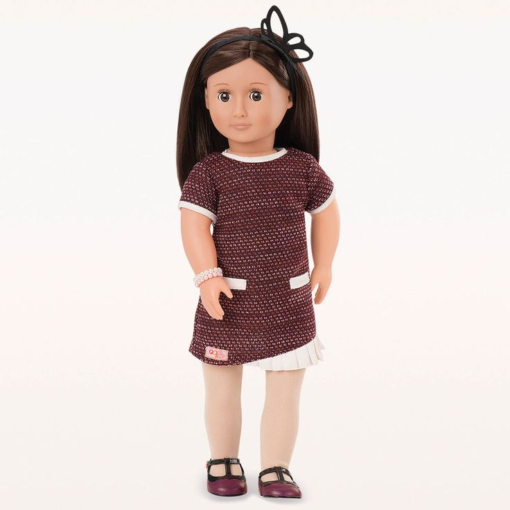 Meet June! June is an Our Generation Doll who loves water. She likes jumping in puddles on rainy days and going swimming when it's sunny. June tries lots of different fundraising activities, such as selling lemonade, to protect endangered sea-creatures.