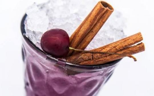 Mastic Tears cocktail: Il Principe // The ultimate combination of mastic and cherries