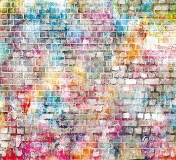 Casadeco So Wall2 Behang Brick Lane verkrijgbaar in de kleuren Multicouleurs, Vert en Gris bij Deco Home Bos in Boxmeer. Voor meer informatie stuur een mail naar info@decohomebos.nl