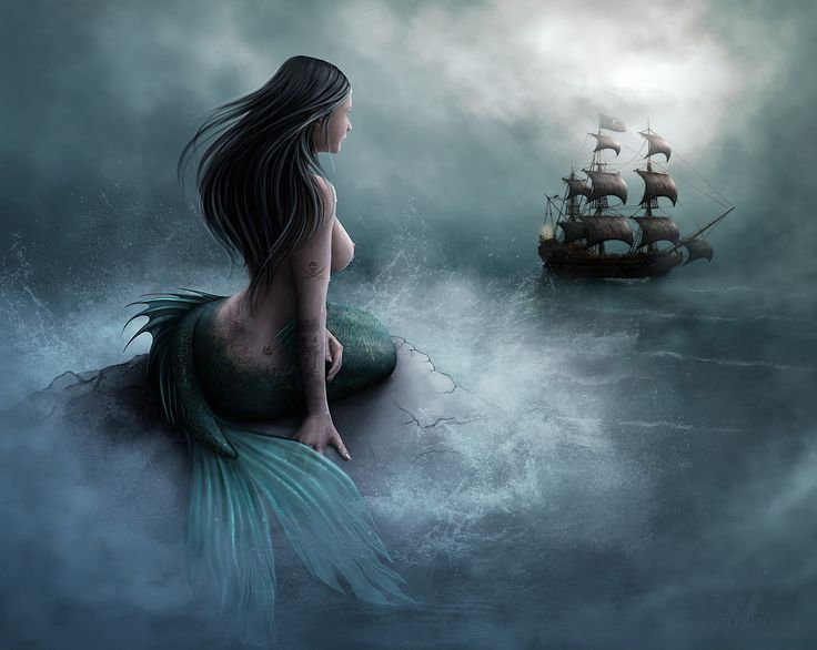 Google Image Result for http://www.paintinghere.org/UploadPic/Unknown%2520Artist/big/Mermaid%2520and%2520pirate%2520ship.jpg