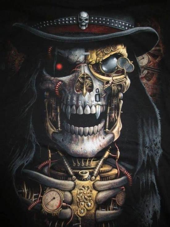 Steampunk Reaper / steampunksteampunk
