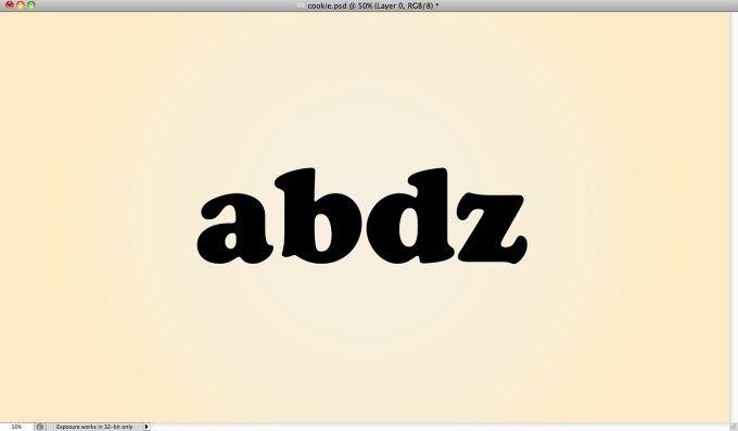 Yummy Cookies Typography in Photoshop | Abduzeedo Design Inspiration