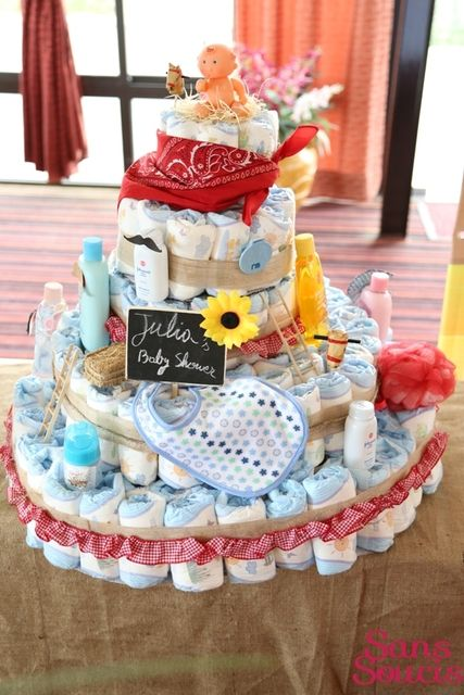 western cowboy baby shower party ideas