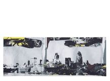 London Cityscape, 80 x 30 cm, Limited Edition by Frazier Boyd