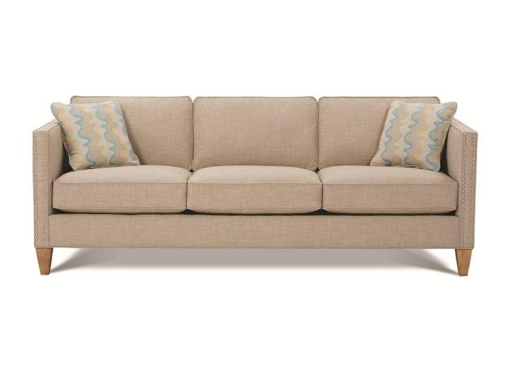 Rowe Mitchell Sofa, Dark Legs Though