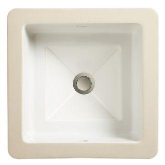 """Porcher Marquee Petite Square Undercounter Lavatory (12 5/8"""")"""