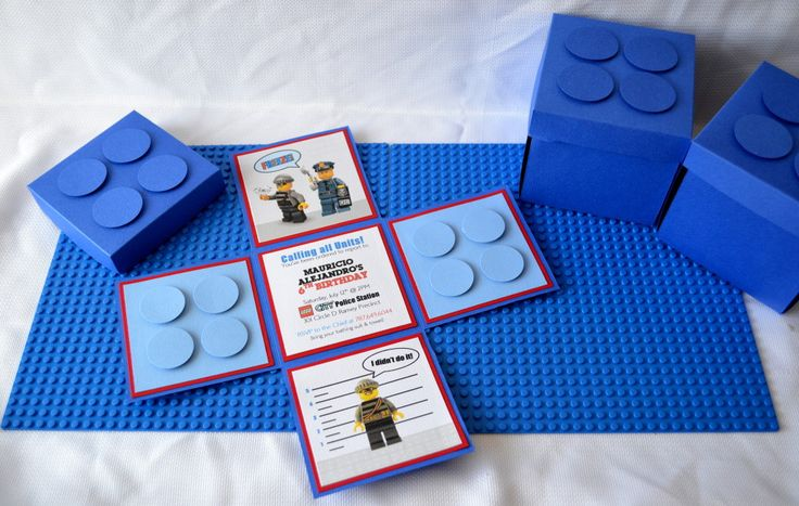 SO cool - LEGO party invitation #kidsparty