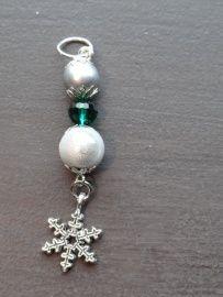 Groen zilver ijskristal nr 17