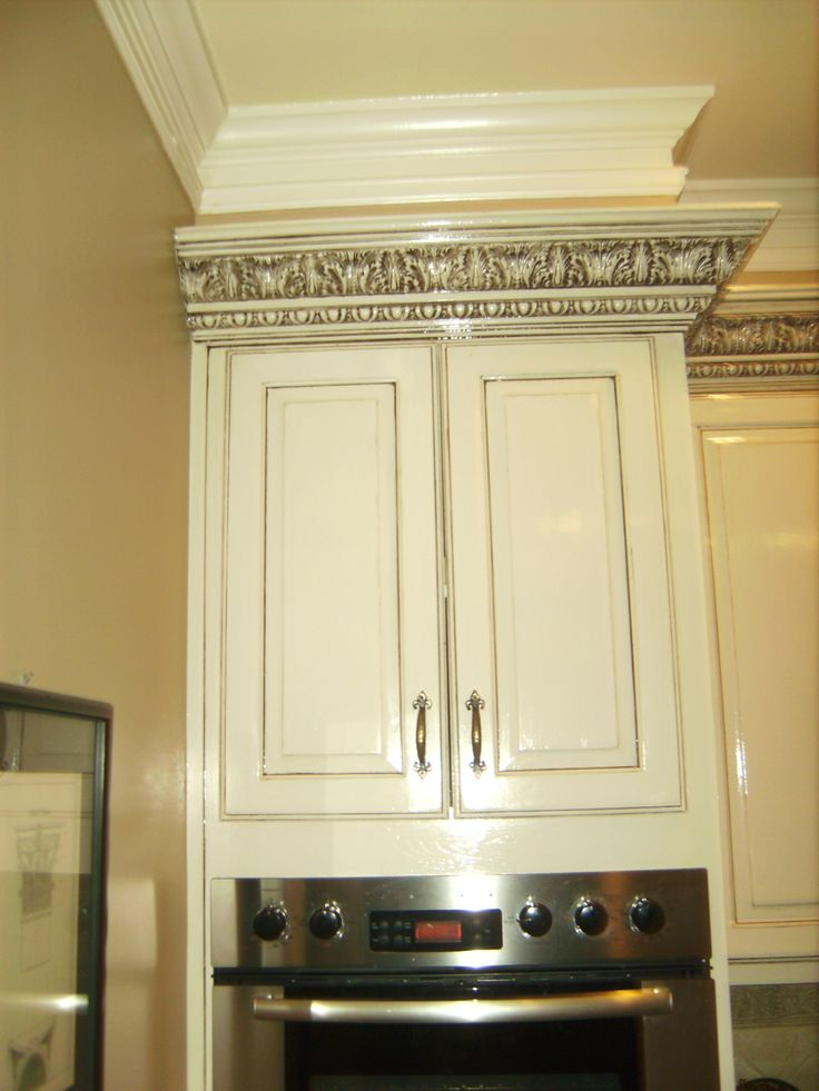 Atlanta Custom Cabinets White With Black Gray Pinstripe