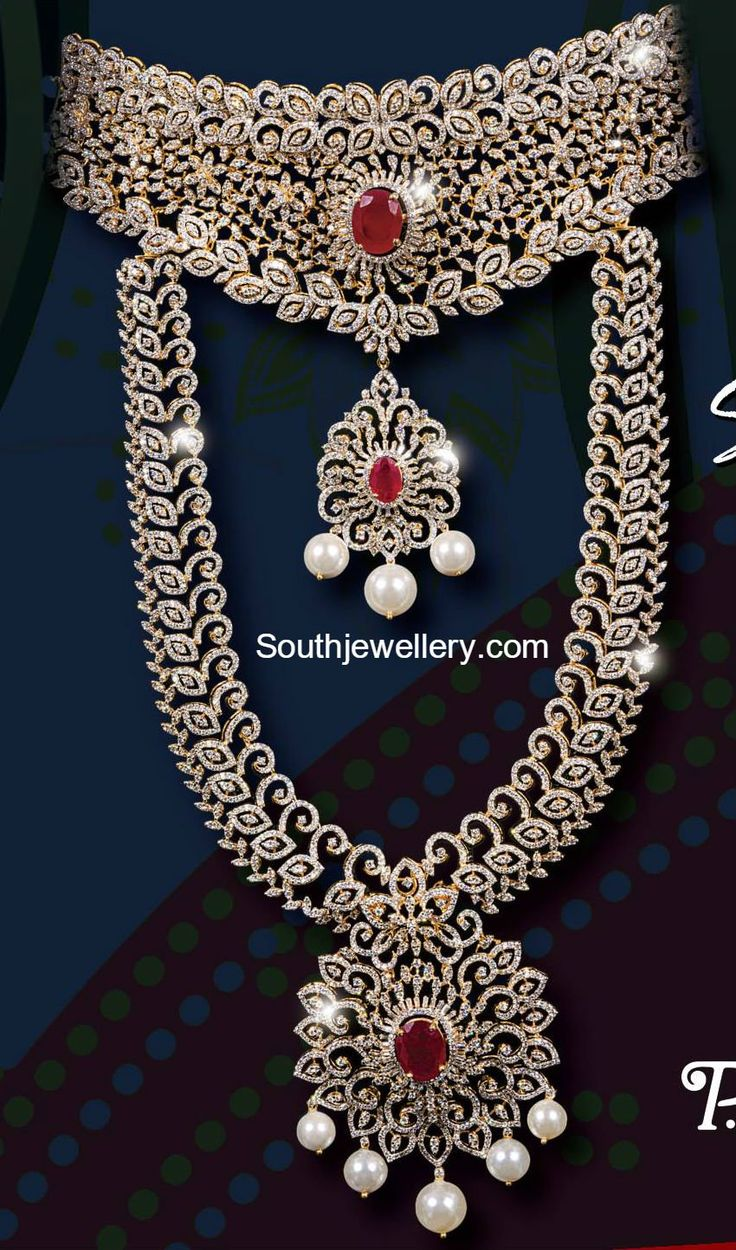 ghdicspe diamond necklace pendant and emerald indian