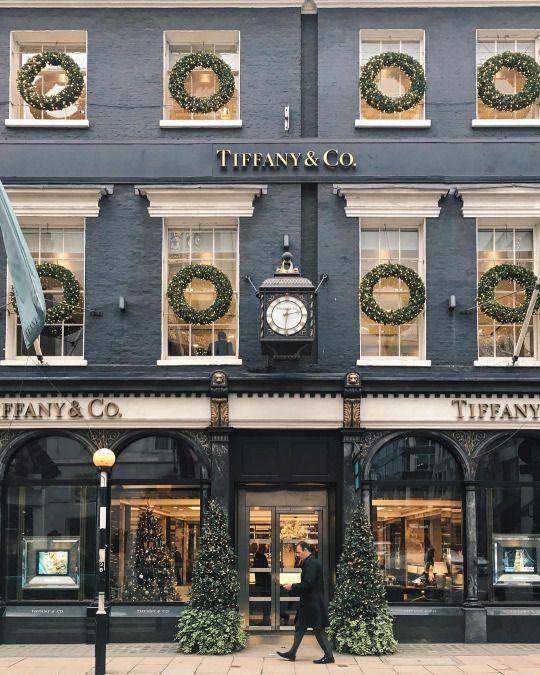 Tiffany & Co, Bond Street, London  #travel #cities #architecture   www.arthuredward....