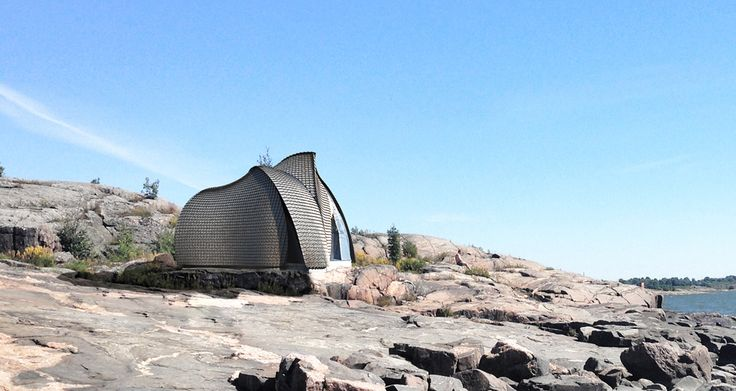 Heat Sauna building by Ateljé Sotamaa