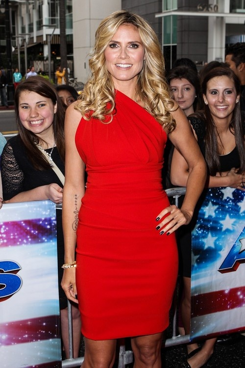 Heidi Klum at America's Got Talent, Season 8 Premiere Party in Hollywood on April 24, 2013