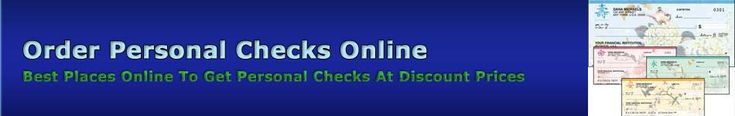 Click Here To Discover Where To Get Cool Personal Checks On The Web