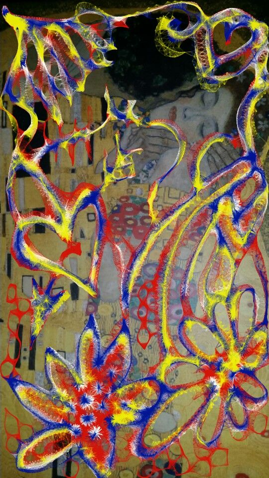 #art #gustavklimt #expression #artoftheday #colourfull #doodle