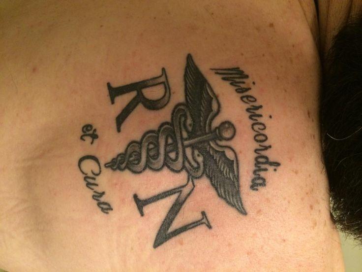 Nurse Symbol Tattoos Medical Symbol Stethoscope Ekg Tattoo