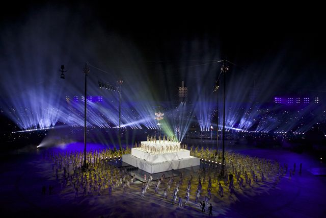 22nd Annual Central American and Caribbean Games - Lighting Design by David Grill