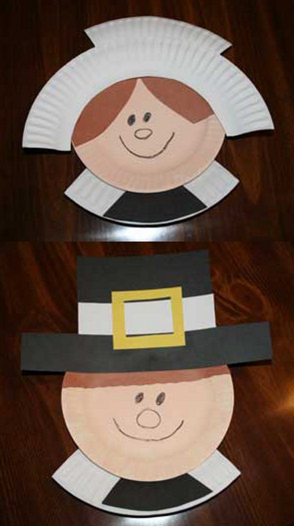 Paper Plate Pilgrims
