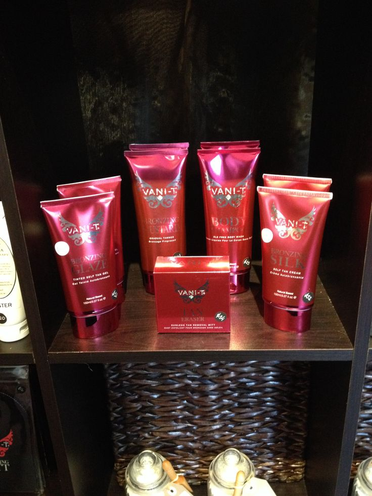 Vani T tanning products