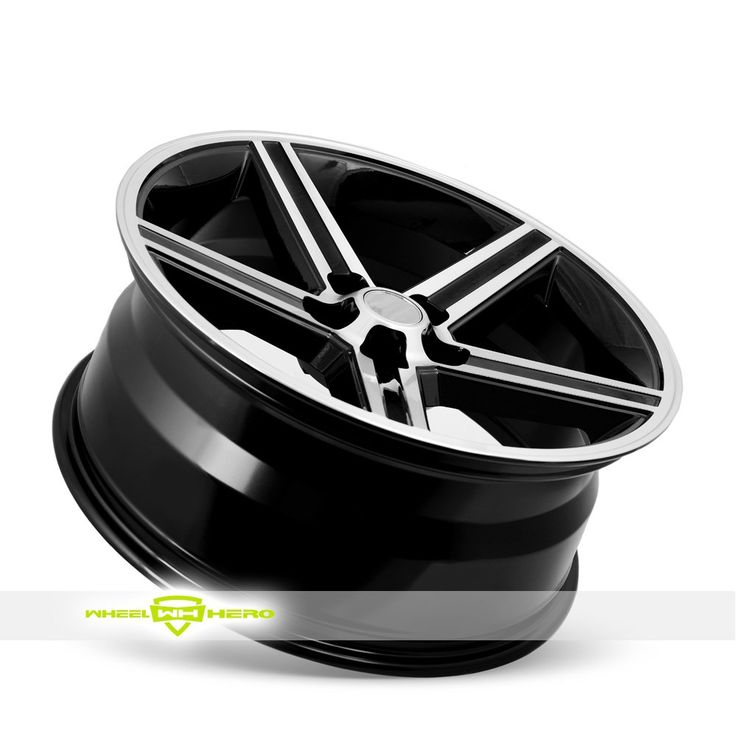 Velocity IROC Machined Black Wheels For Sale & Velocity IROC Rims And Tires