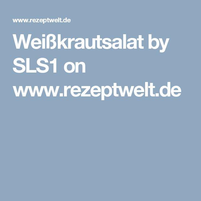 Weißkrautsalat by SLS1 on www.rezeptwelt.de