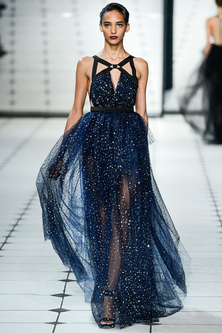 This dress looks like a starry night.  Jason Wu Spring 2013 RTW - Review - Collections - Vogue