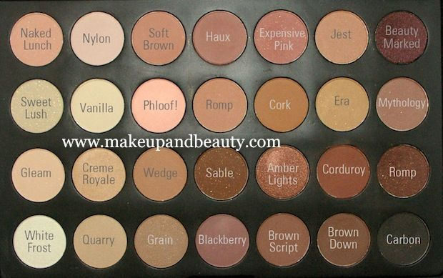 Coastal Scents 28 Piece Eye Shadow Neutral Palette Review+ MAC Dupes photo