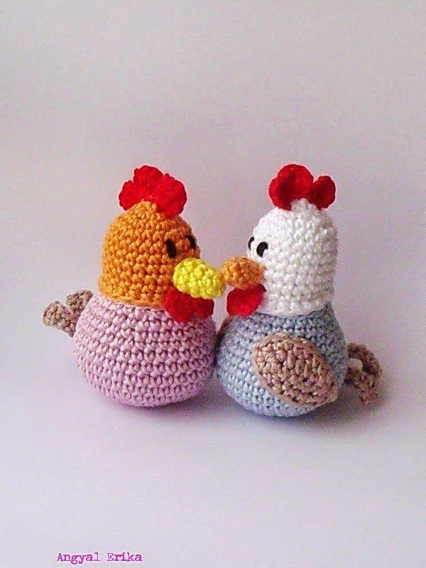 Crochet Hens