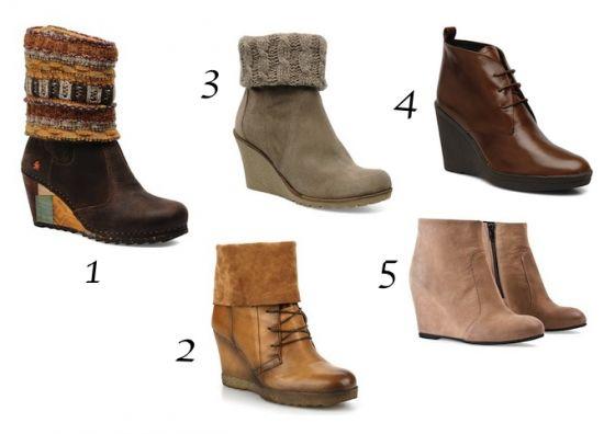 pas mal 919d1 f29ae bottines compensées automne hiver 2013 2014 | Love Shoes ...