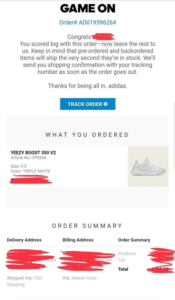 Real!!!New !!!Adidas Yeezy Boost 350 V2 Triple White Size