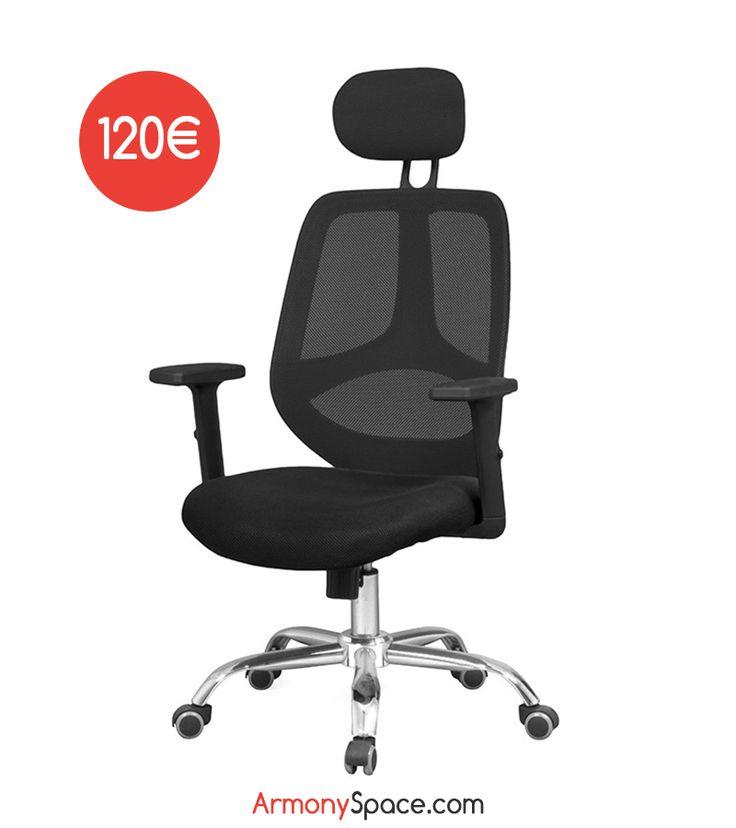 M s de 1000 ideas sobre sillas de respaldo alto en for Silla escritorio comoda