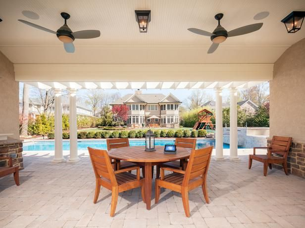 Want a glass of wine with this patio? You'll need to pass a  retina scanner that permits access to the wine cellar >> http://www.hgtvremodels.com/interiors/cedia-2013-integrated-home-finalist-cutting-edge-integration/pictures/index.html?soc=cediaparty